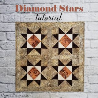 Diamond Stars Quilt Tutorial