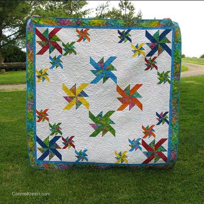 Star Dust quilt digital quilt pattern