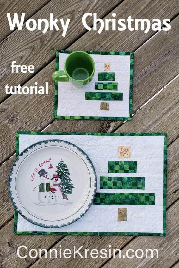 Wonky Christmas Tree tutorial