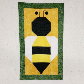 Save the Bees block four
