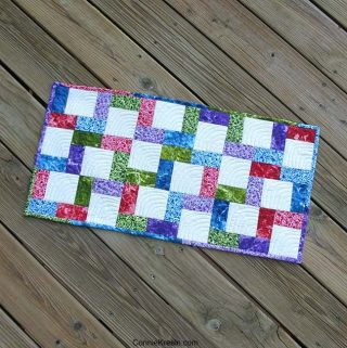 Crossroads tablerunner tutorial