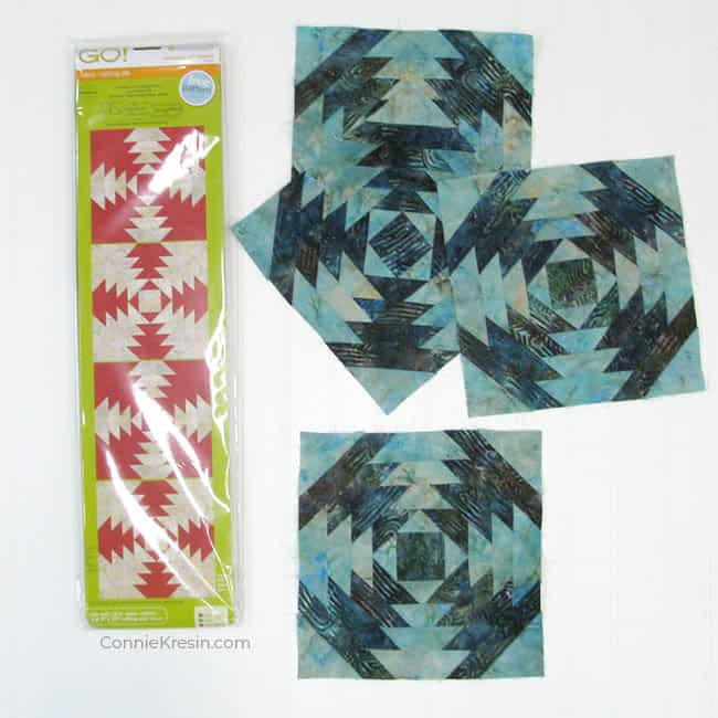 AccuQuilt GO! Pineapple quilt blocks