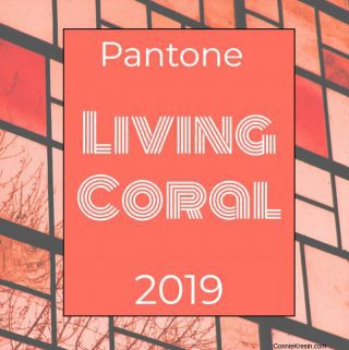 Living Coral Pantone color of 2019