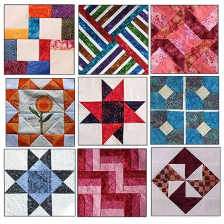 Quilt block tutorials