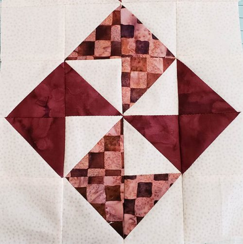 Simple Pinwheel quilt block
