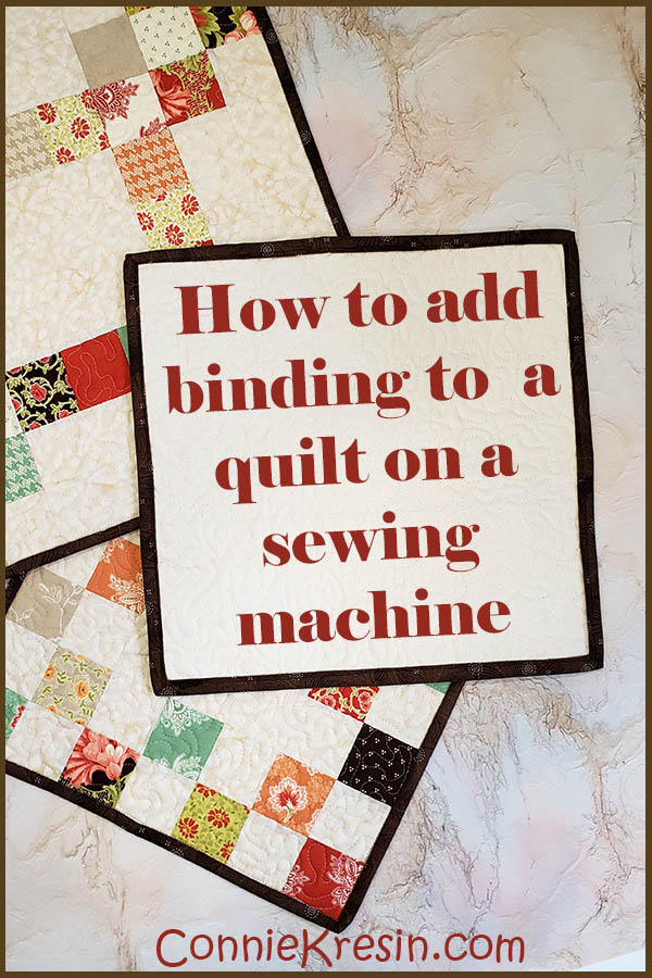How to add binding to a quilt on a sewing machine