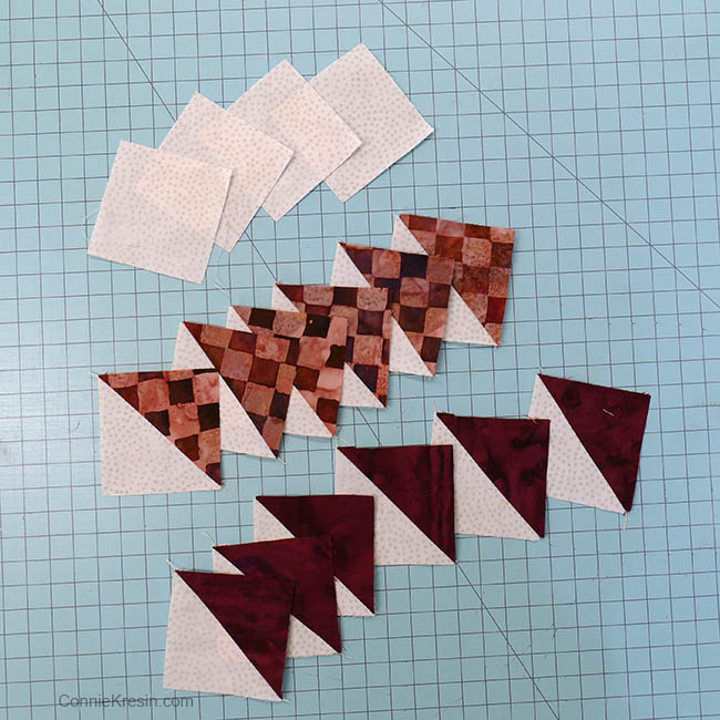 simple pinwheel quilt table runner tutorial block pieces
