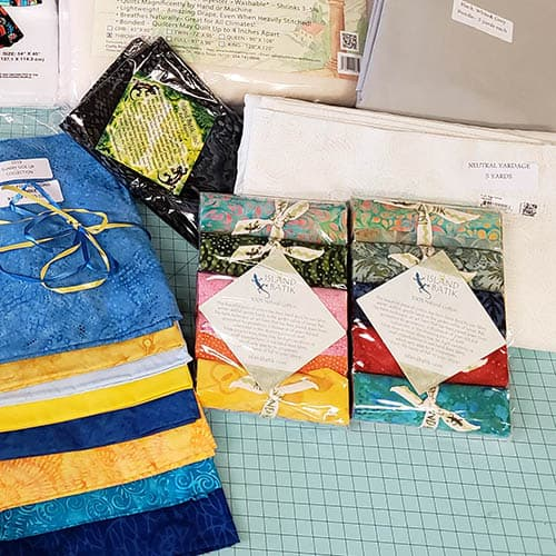 How to make Bargello Place Mats from Leftover Scraps 5 inch strips in bundles