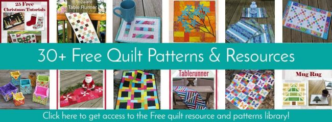 30 quilt tutorials which are free