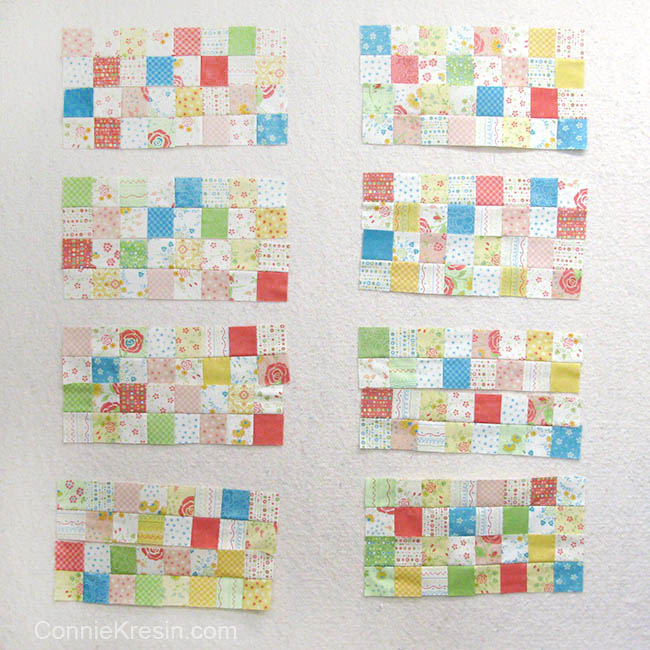 Easy Baby Block Quilt for Beginners tutorial rectangles