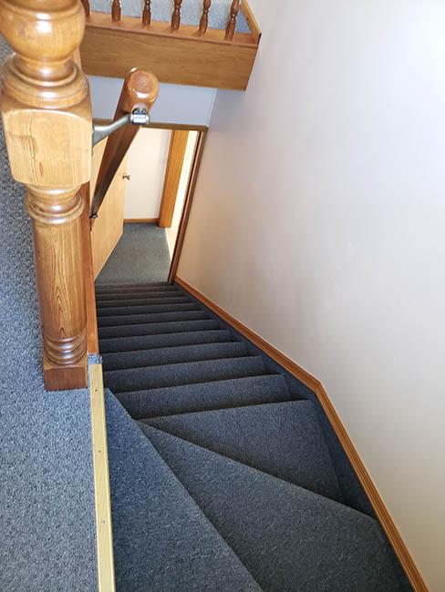 upstairs steep steps
