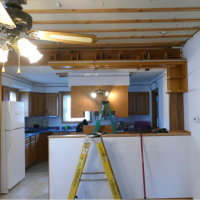 Kitchen curio cabinet