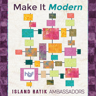 Island Batik Make it Modern quilt
