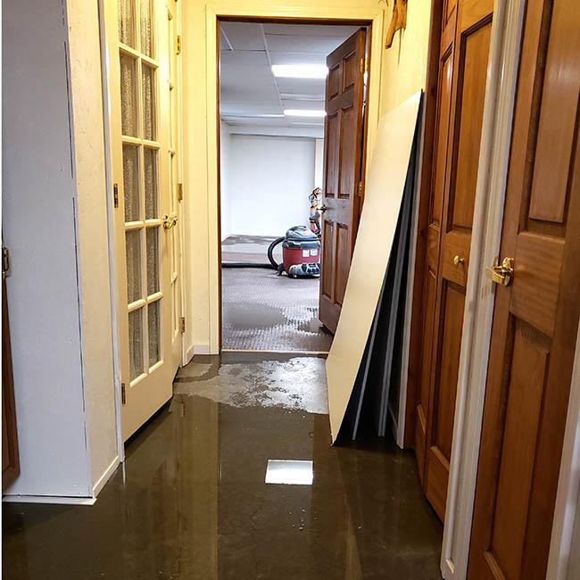quilt studio flooded