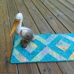 45-degree strip tube table runner tutorial with pelican