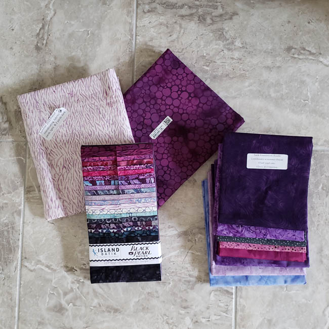 Island Batik goodies Black Pearl collection