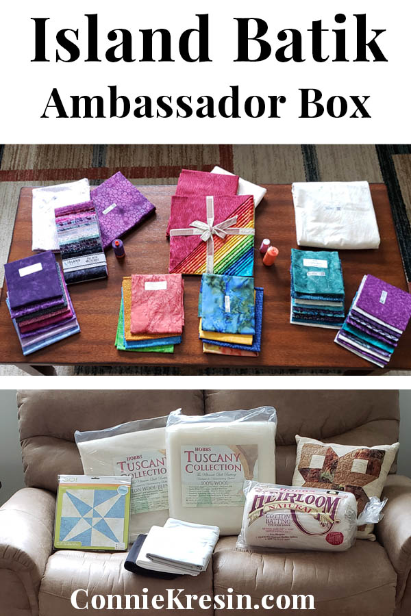 Island Batik goodies in Ambassador box