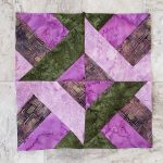 How to make Hidden Wells quilt block with strips