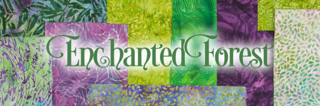 Island Batik Enchanted Forest fabric collection