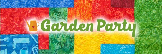 Island Batik Garden Party fabric collection