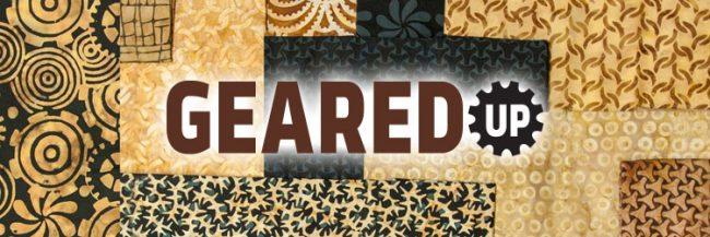 Island Batik Geared Up fabric collection