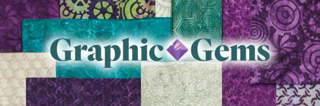 Island Batik Graphic Gems fabric collection