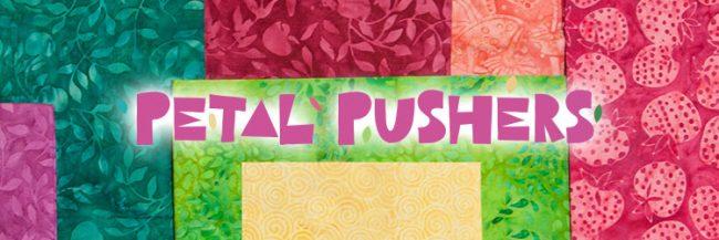 Island Batik Petal Pushers fabric collection
