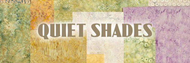 Island Batik Quiet Shades fabric collection