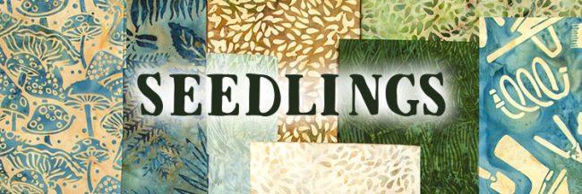 Island Batik Seedlings fabric collection