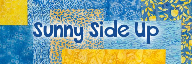 Island Batik Sunny Side Up fabric collection