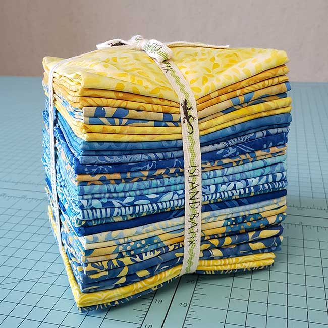 Sunny Side Up fabric collection from Island Batik