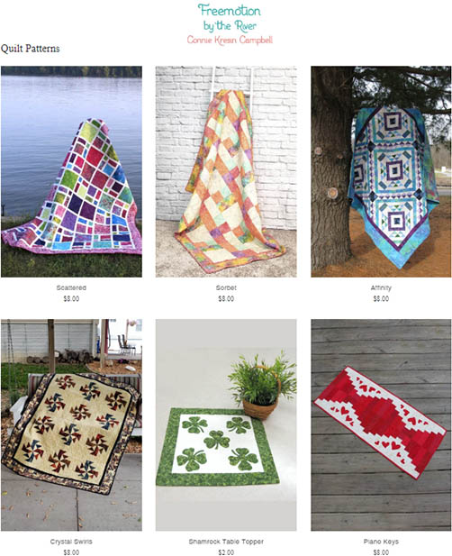 Get my digital quilt patterns
