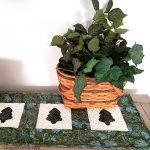 Pine tree tablerunner