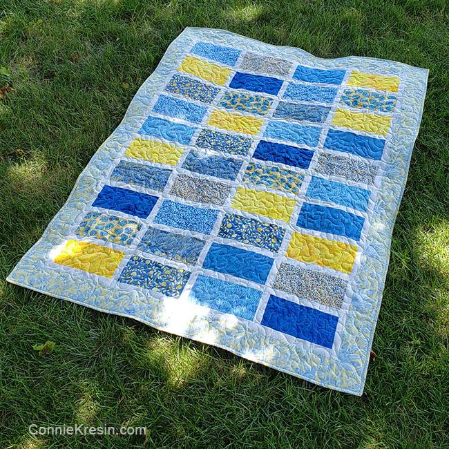Sparkles quilt finished