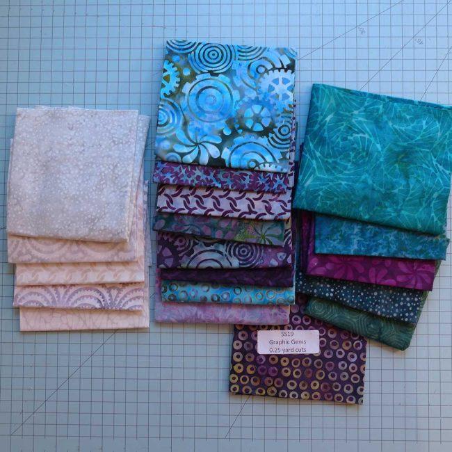 Graphics Gem batik fabrics