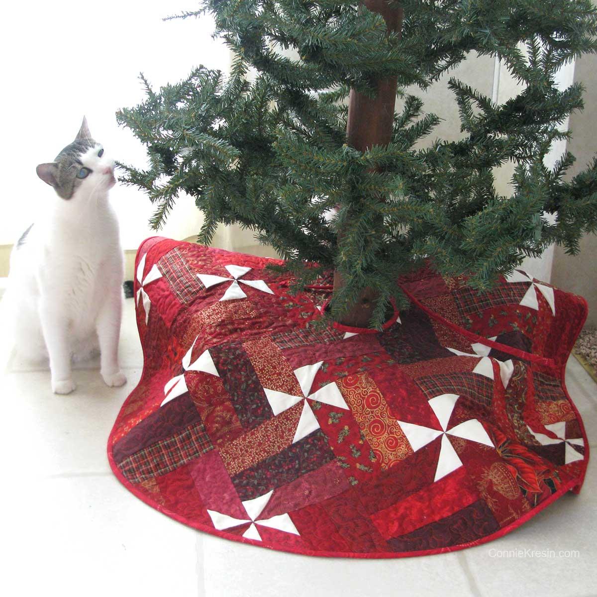 Christmas Tree Skirt for the holidays