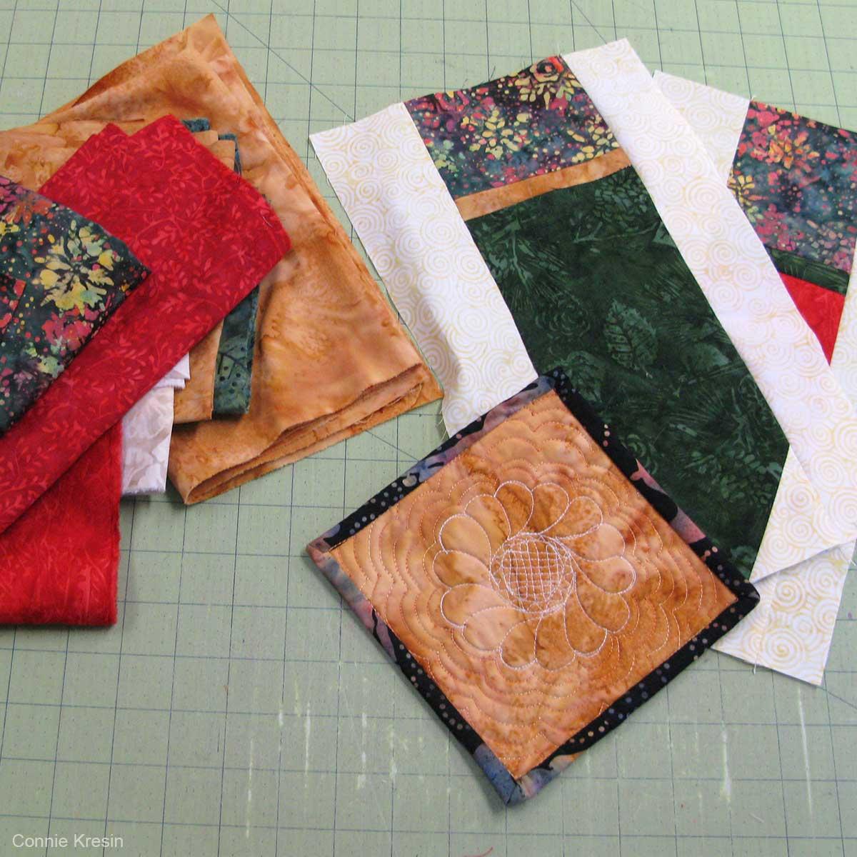 Island Batik fabrics used