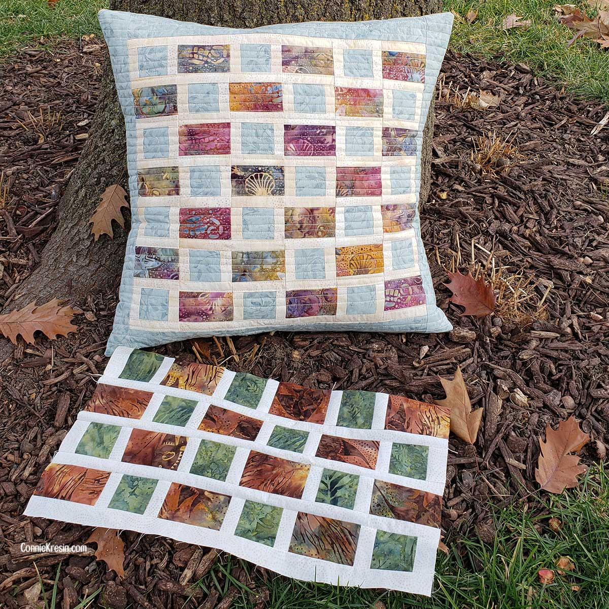 Remaking the quilt pillow