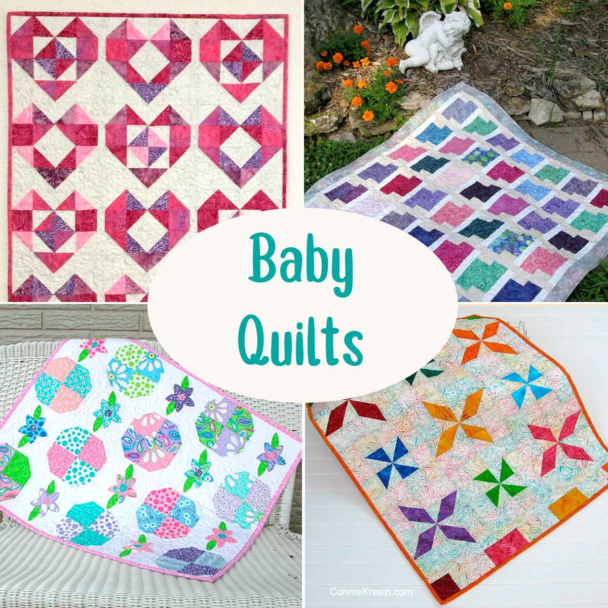 Baby Quilt Tutorials