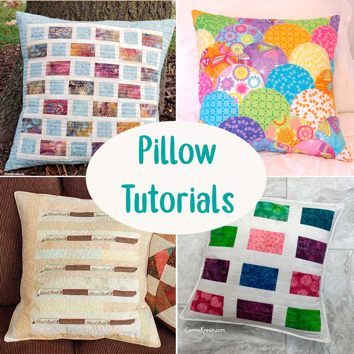 Category for Pillow tutorials