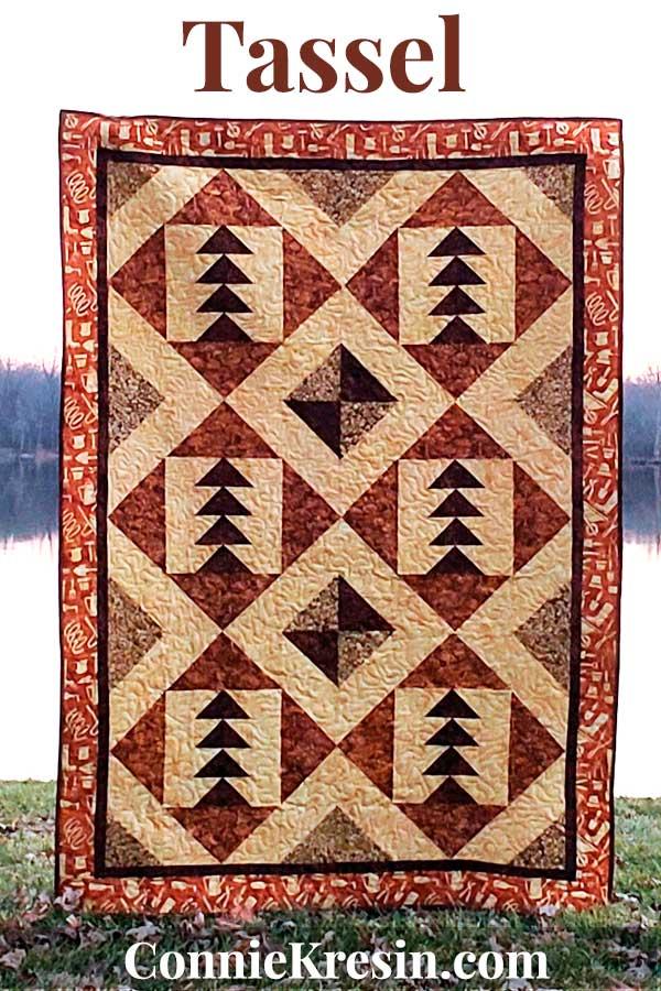 Tassel quilt pattern