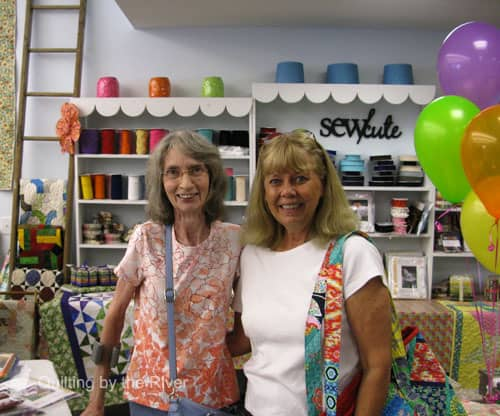 Rina and me at Missouri Star Quilt Co.