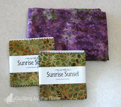 Batik quilt fabrics