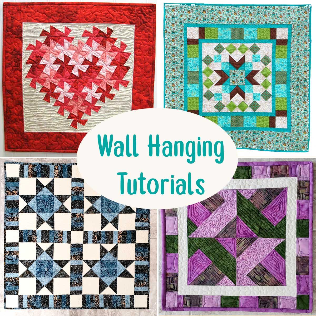 Wall Hanging tutorials