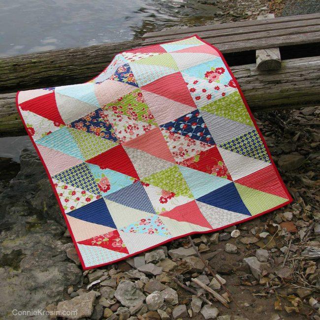 Half Square Triangle quilt bonus