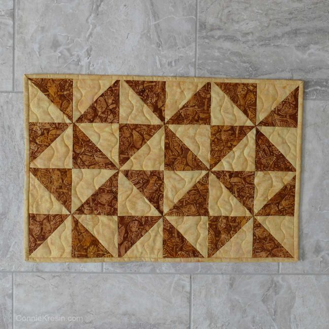 Table runner quilting