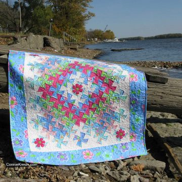 Worldly Baby Quilt