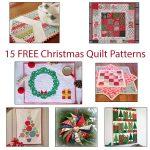 15 Christmas quilt tutorial