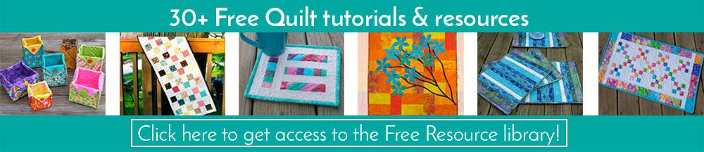 Get free quilt tutorials