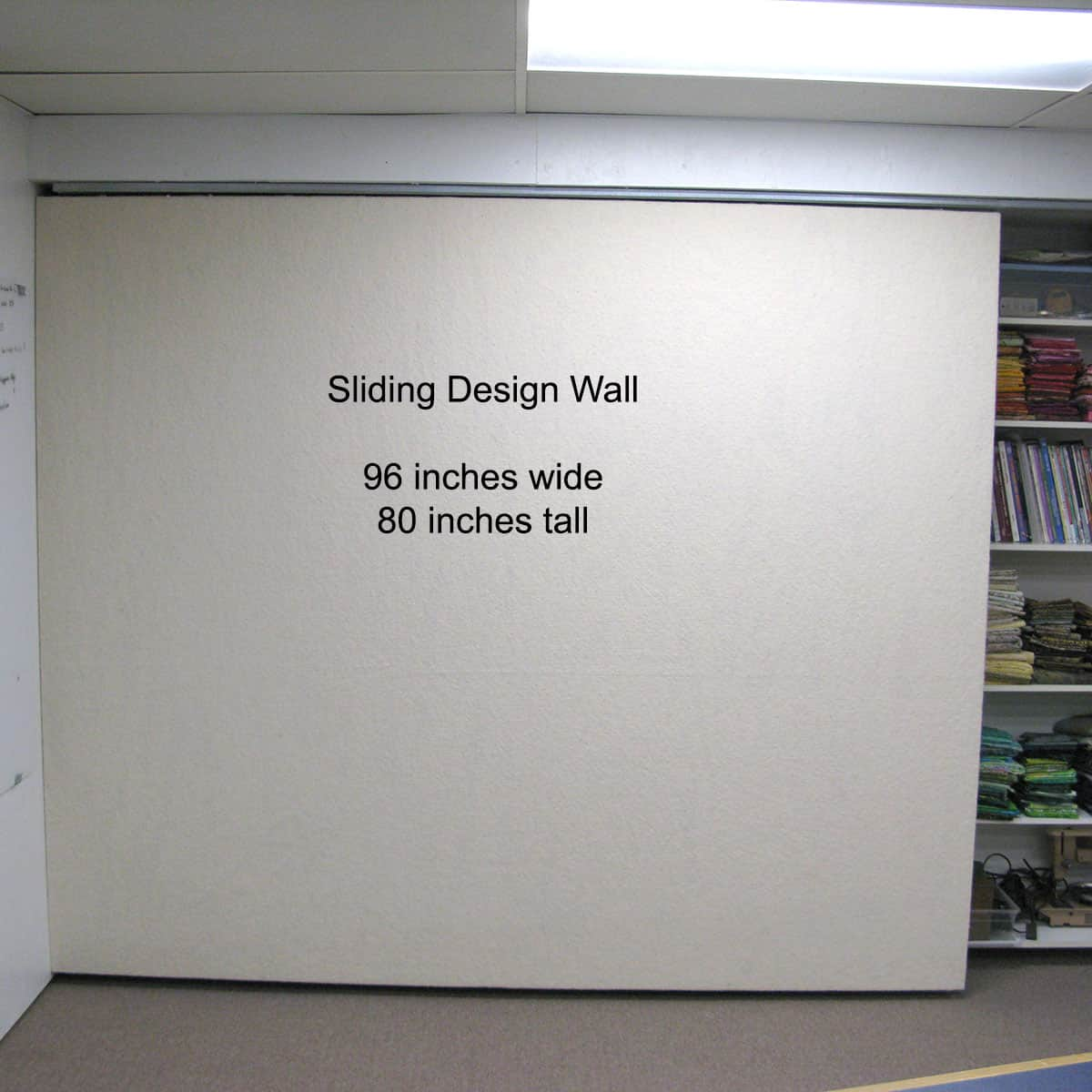 Size of design wall